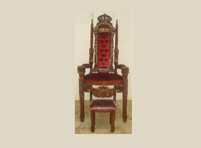 כסאות מעוצבים לבתי כנסת
