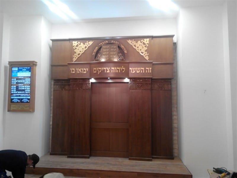 ארון קודש מסורתי דגם גיא